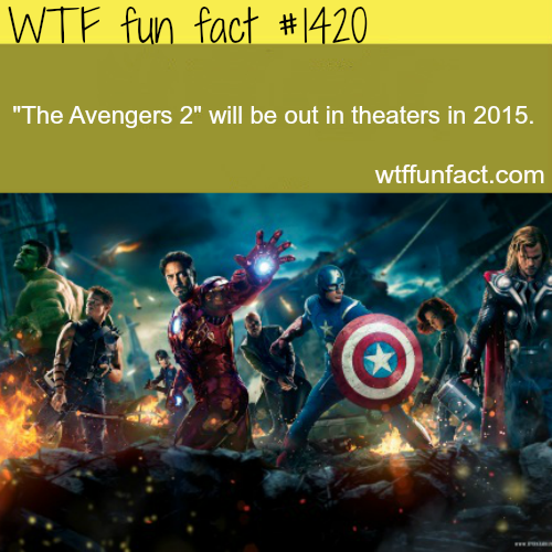 the avengers 2 - release date