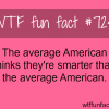 the average american wtf fun fact