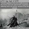 the battle of pelusium wtf fun fact