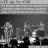 the beatles and segregated audiences