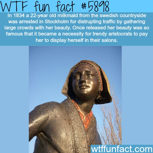 The beautiful Swedish girl - WTF fun facts