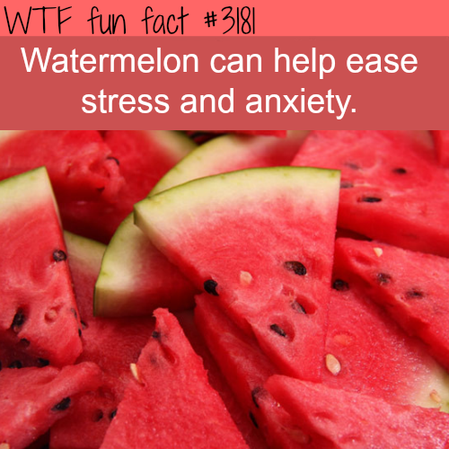The benefits of watermelon -  WTF fun facts