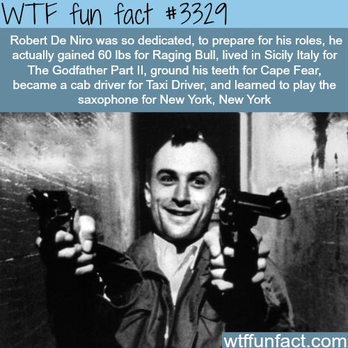 The best actor in the world -WTF fun facts