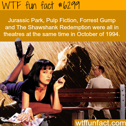 The best movies in the world all came out together - WTF fun facts