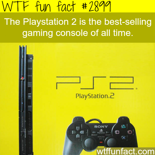 The best-selling gaming console -  WTF fun facts
