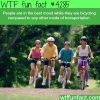the best way of transportation wtf fun facts