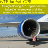 the boeing 777 engine wtf fun fact