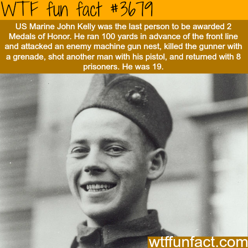 The bravest 19 year old man - WTF fun facts