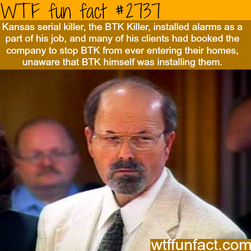 The BTK Serial Killer - WTF fun facts