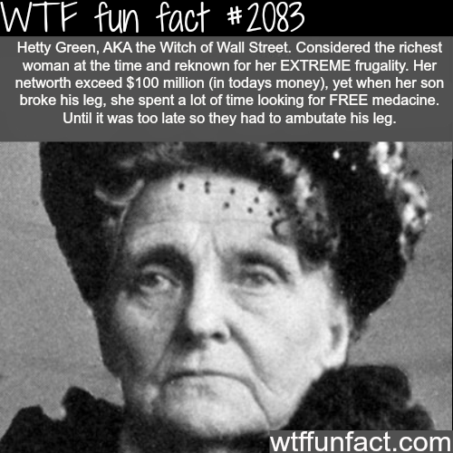The cheapest person in the world? - WTF fun facts