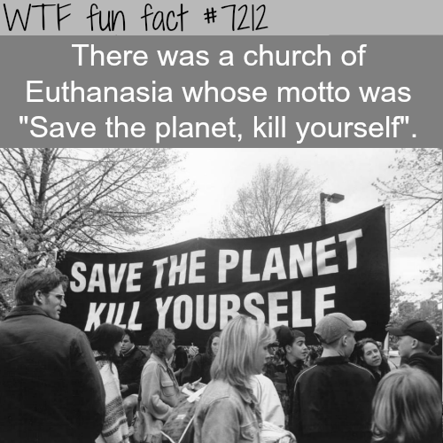 The Church of Euthanasia - WTF Fun Fact