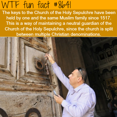 The Church of the Holy Sepulchre - WTF fun facts