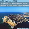 the city of saint malo in france