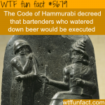 the code of hammurabi wtf fun fact