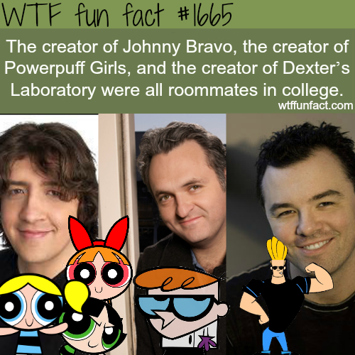 The creator of Johnny Bravo -  WTF fun facts