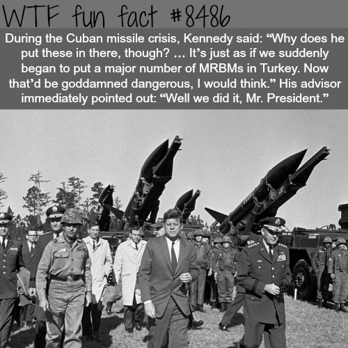 The Cuban Missile Crisis - WTF fun facts