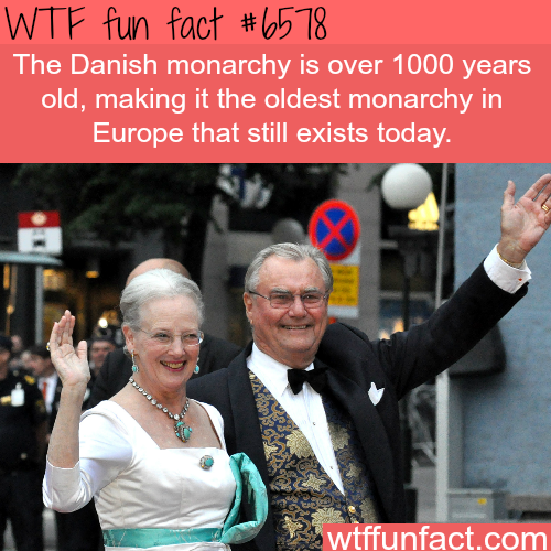 The Danish monarchy - WTF fun facts