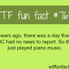 the day where nothing happened wtf fun facts