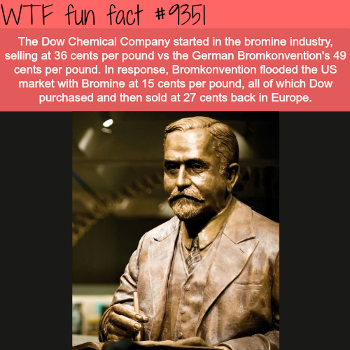 The Dow Chemical Company - WTF fun facts