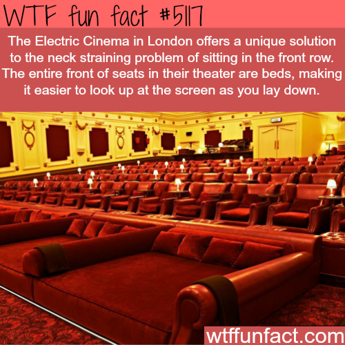 The Electric Cinema in London - WTF fun facts