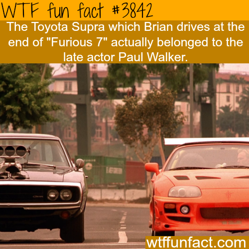 The ending scene in Furious 7 - WTF fun facts
