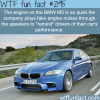 the engine on the bmw m5