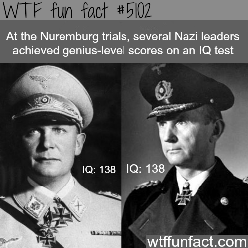 The evil genius of the Nazi leaders - WTF fun facts