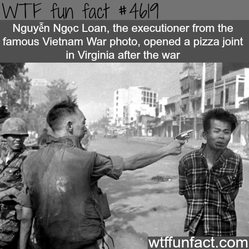 The famous Vietnam War photo - WTF fun facts