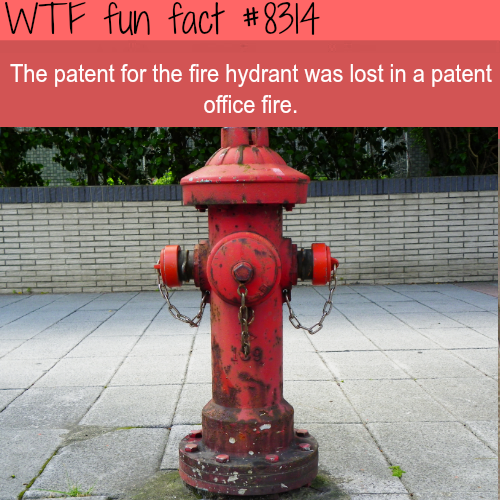 The fire hydrant patent - WTF fun fact