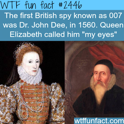 The first British spy known as 007 -WTF funfacts