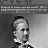the first female mayor in america wtf fun fact