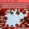 the football huddle wtf fun facts