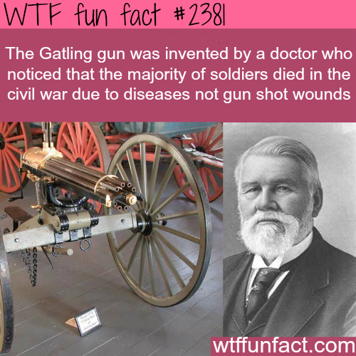 The Gatling Gun -WTF funfacts