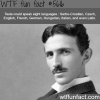 the genius of nikola tesla wtf fun fact