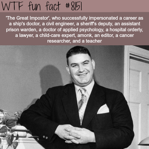 The Great Impostor - WTF fun fact