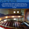 the haskell free library and opera house is an