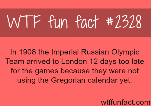 The Imperial Russian Olympic team