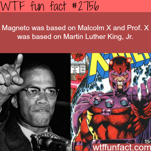 The Inspiration for Magneto and Prof. X - WTF fun facts