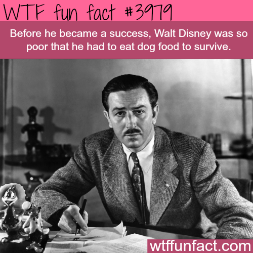 The inspiring success story of Walt Disney - WTF fun facts