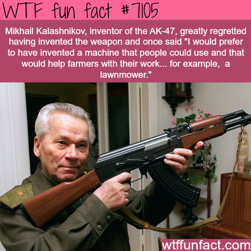 The inventor of AK-47 - WTF fun facts