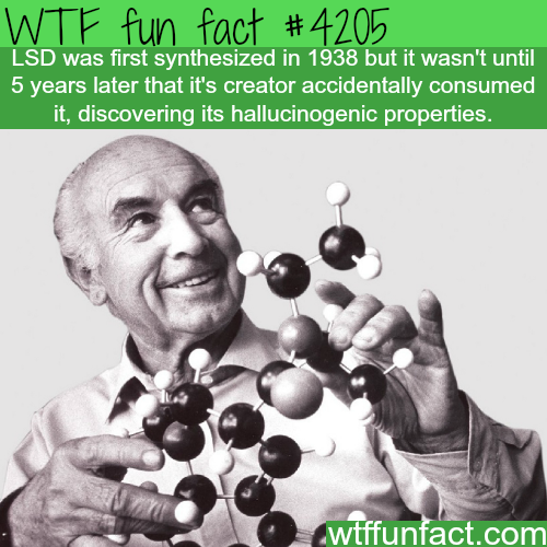 The inventor of LSD -  WTF fun facts