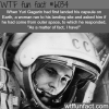 the landing of yuri gagarin from space wtf fun