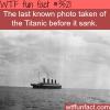 the last photo taken of the titanic wtf fun