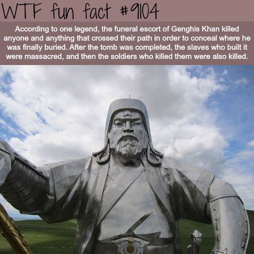 The legend of Genghis Khan - WTF fun fact