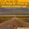 the lonelest road in america