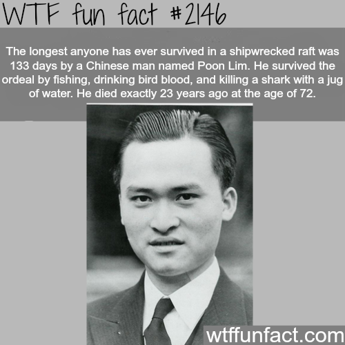 The longest survival period - WTF fun facts