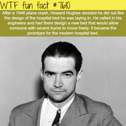 The man who pioneered the modern hospital bed - WTF fun facts