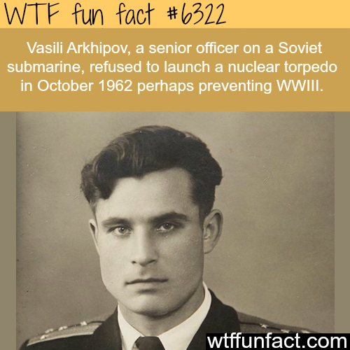 The man who prevented World War 3 - WTF fun facts