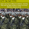 the military of japan wtf fun fact