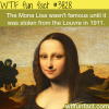 the mona lisa wtf fun facts